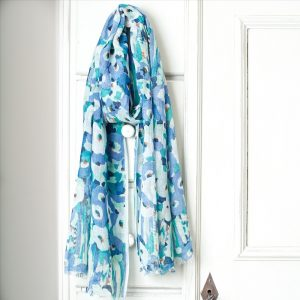 Columbia Road Long Cotton and Linen Scarf Style