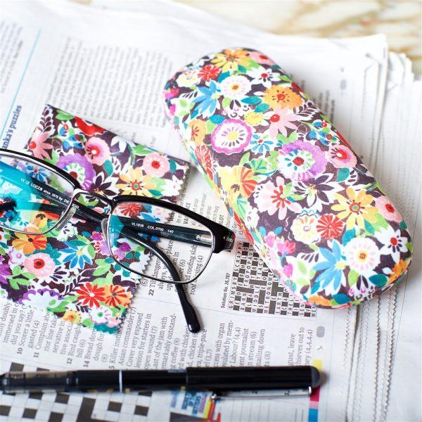 Flower Patch Glasses Case