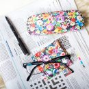 Flower Patch Glasses Case Cloth