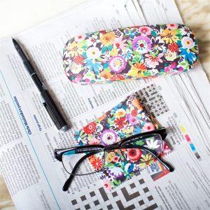 Flower Patch Glasses Case Cloth