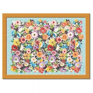 Flower Patch Lap Tray
