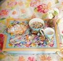 Flower Patch Lap Tray Lifestyle