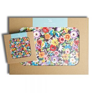 Flower Patch Placemats Coasters