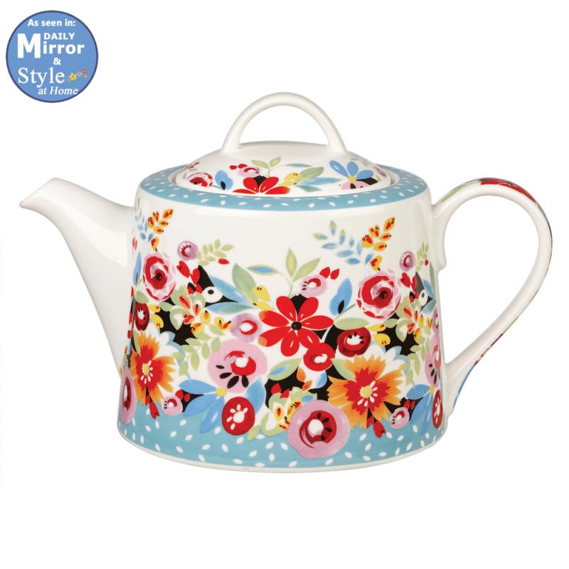 Flowerdrop-Teapot
