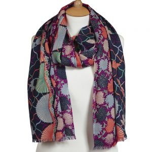 Folklorique wool scarf (1)
