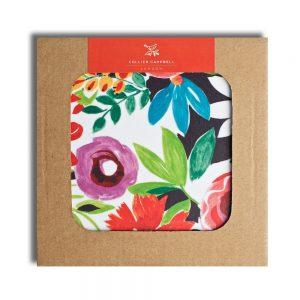 Grandiflora Tangerine Coasters Package