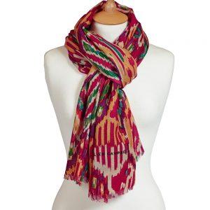Hurdy Gurdy wool scarf (1)