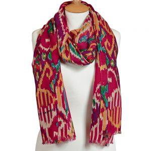 Hurdy Gurdy wool scarf