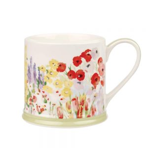 Painted Garden Elm Mug