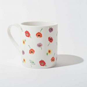 Painted Garden Mug Set A