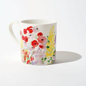Painted Garden Mug Set B