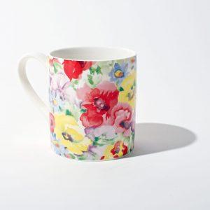 Painted Garden Mug Set D