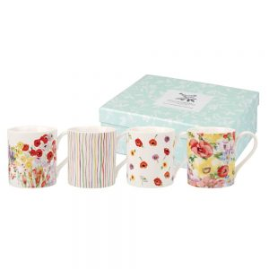 Painted Garden Mugs Box Set