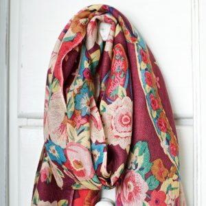 Pushkin Rose Scarf