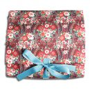 Pushkin Rose roll out washbag