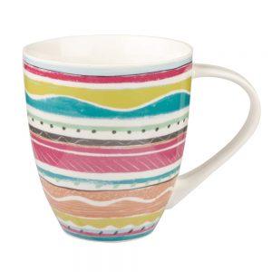 Riviera stripe mug