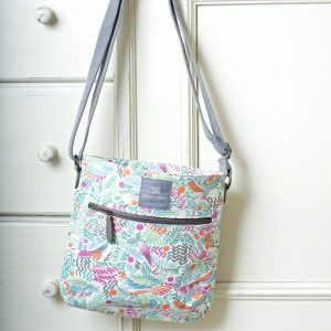 Tropical Bird Cross body Bag