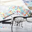 Tropical Birds Glasses Case Cloth