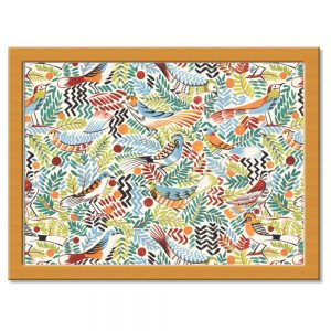 Tropical Birds Lap Tray