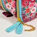 CU Pushkin Rose washbag zip pull