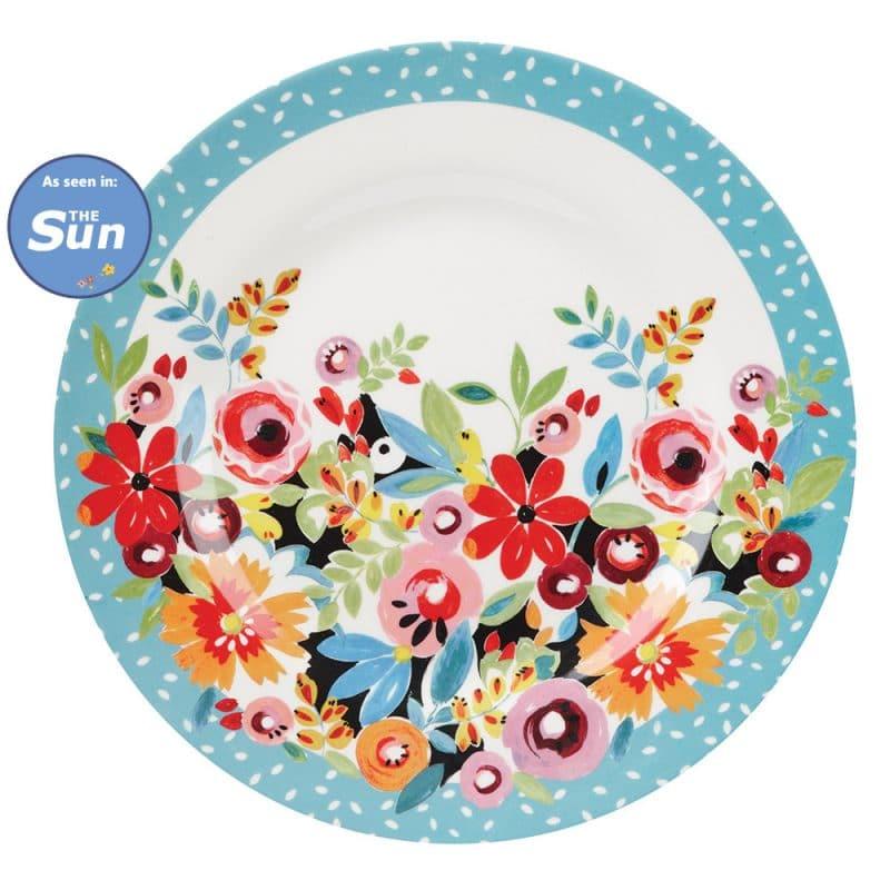 Flowerdrop-Plate-Melamine-25_THESUN