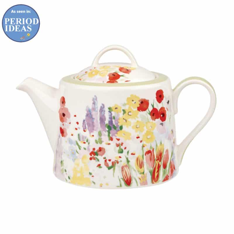Painted-Garden-Teapot