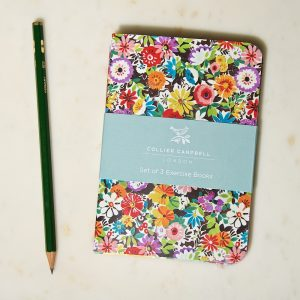 A6 exercise books Flower patch top