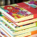 Address book pile S Garden on top