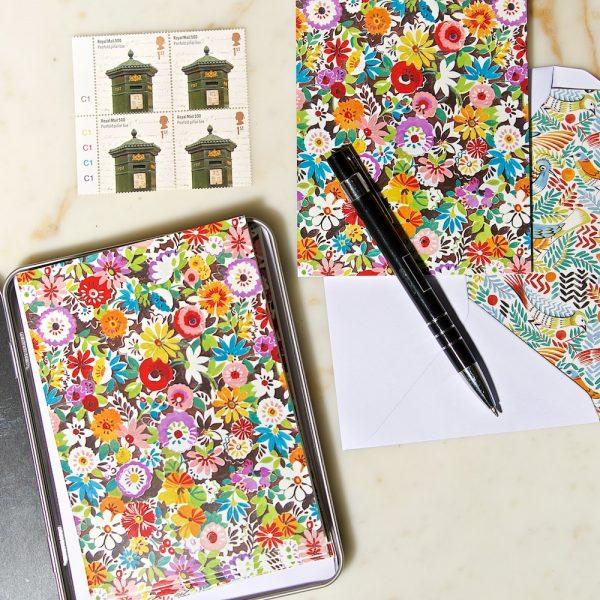 Flower Patch TB notecard set