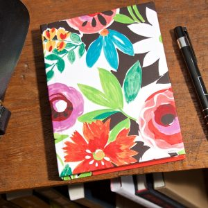 Grandiflora Tangerine A6 Address Book