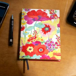 Secret Garden A5 address book