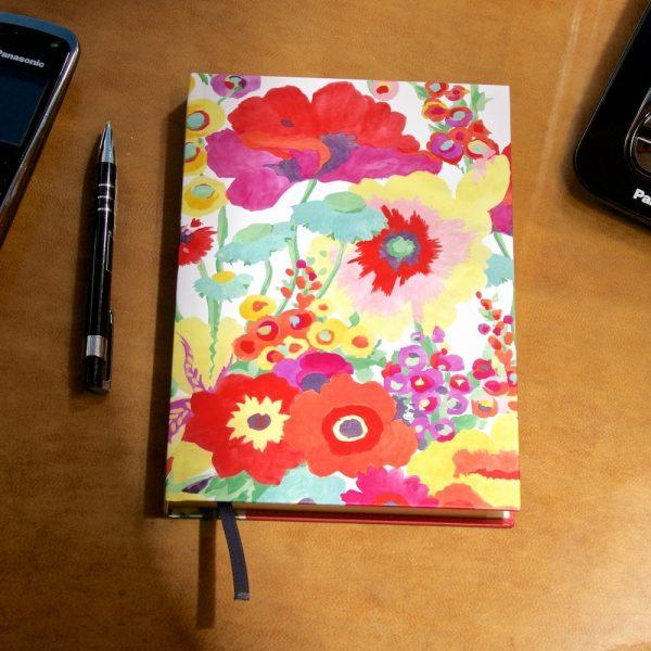 Secret Garden A5 address book