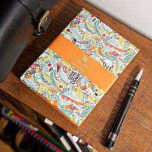 Tropical Birds A6 Address Book + sleeve