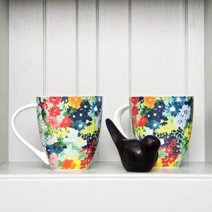 Floresta floral mug x 2 LS