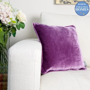Purple-velvet-cushion _25BEAUTIFULHOMES_APRIL2017