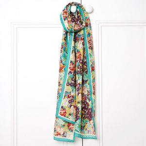 E Forest Silk Scarf LS Main