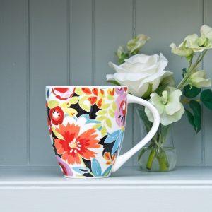 Flowerdrop Crush mug + flower