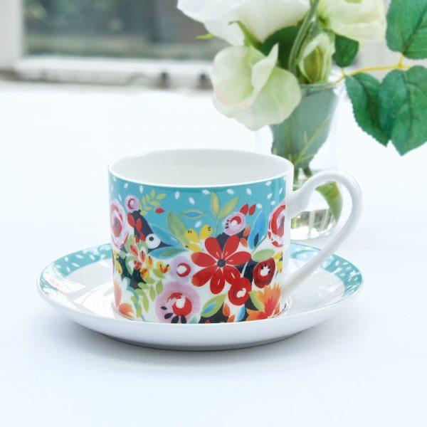 Flowerdrop Cup & Saucer LS (1)