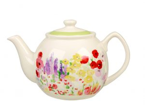 Painted Garden Teapot (T42) CO