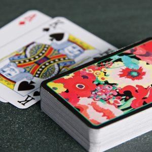 S Garden P Cards Black Set LS