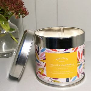 A Leaves Candle Tin LS