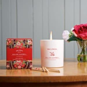Pushkin Rose Candle Box & Jar LS