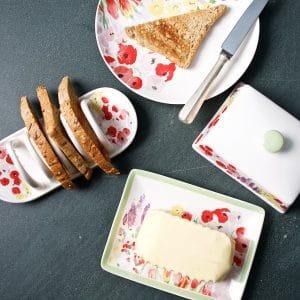 P Garden Butter Dish B:fast LS