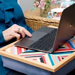 Quicksilver Laptray sitting LS